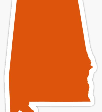 Auburn Orange  Sticker