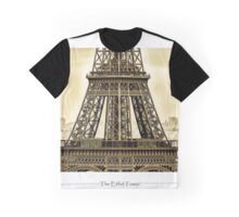 Eiffel Tower from the Arch Di Triomphe   Graphic T-Shirt