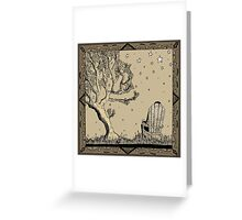 Whisky Under The Stars Greeting Card