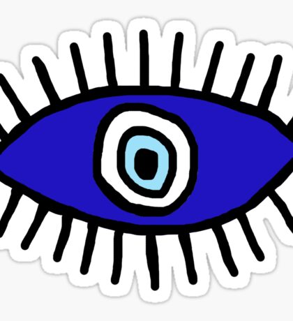 Evil Eye Sticker