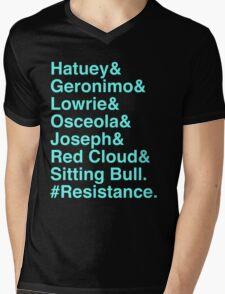 Resistance Mens V-Neck T-Shirt
