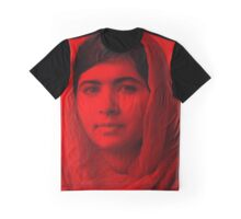 Malala Yousafzai - Celebrity Graphic T-Shirt