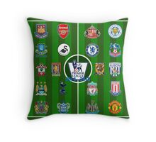 EPL~English Premier League 2014~2015 Throw Pillow