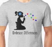 Autism Shirt Embrace Differences Unisex T-Shirt