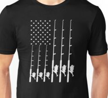 Fishing Flag Unisex T-Shirt