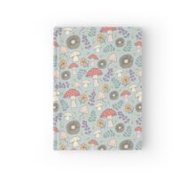 mushroom garden Hardcover Journal
