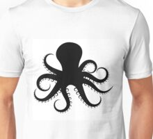 Octopus Silhouette  Unisex T-Shirt
