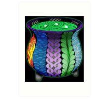 Elemental Cauldron Art Print