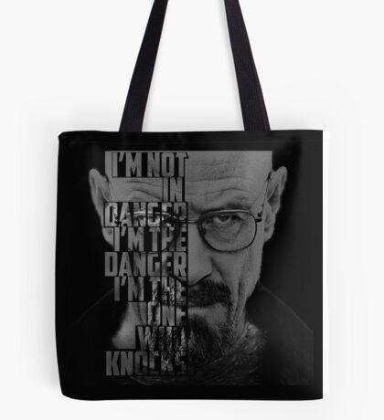 Heisenberg Knocks Tote Bag