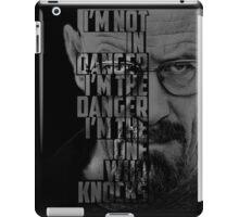 Heisenberg Knocks iPad Case/Skin