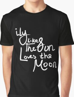 """Like the Sun and Moon"" Graphic T-Shirt"