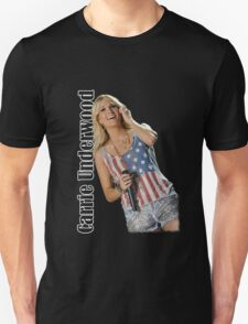 Carrie Underwood sing perform coverr Unisex T-Shirt