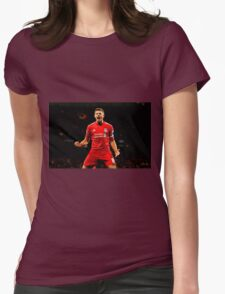 steven gerrard Womens Fitted T-Shirt