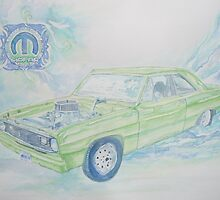 Meen Green Machine by Jeanne Allgood