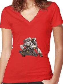 Winston Women's Fitted V-Neck T-Shirt