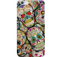 Sugar Skull Collage iPhone Case/Skin