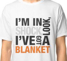 Quote Sherlock Blanket Classic T-Shirt