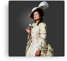 Portrait of a Young Girl (Nitro-9 not included) Canvas Print
