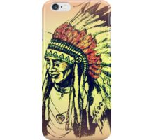 American Indian Chief iPhone Case/Skin