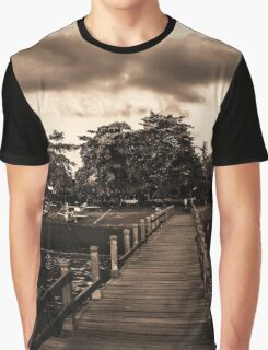 As the clouds roll in........ Graphic T-Shirt