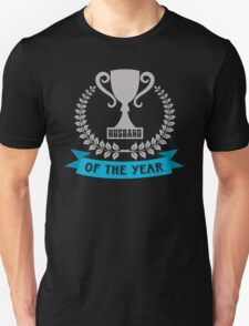 The Most Awesome Husband In The World Of The Year Unisex T-Shirt