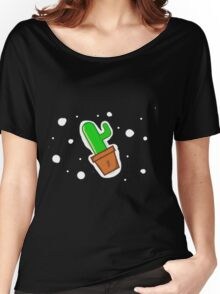 The Incredible Space Cactus  Women's Relaxed Fit T-Shirt