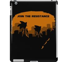 Join the resistance-sonic 2017 iPad Case/Skin