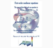 First Order Non Linear Equation One Piece - Short Sleeve