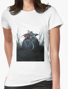 Dragon Hatchling Womens Fitted T-Shirt