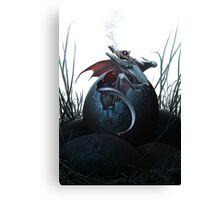 Dragon Hatchling Canvas Print