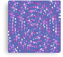 Abstract Colours Canvas Print