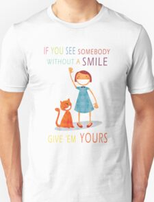 Share The Happiness Unisex T-Shirt
