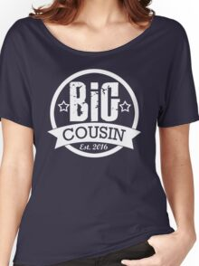 Big Cousin Shirt - Personalized Big Brother Women's Relaxed Fit T-Shirt