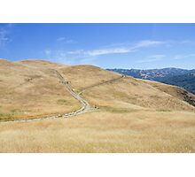 Trail at Alum Rock, San Jose, California, USA. Photographic Print