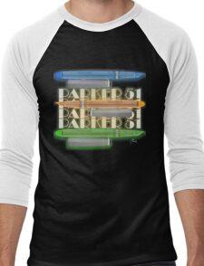 p51 - Kandy Coloured Streamline Baby Men's Baseball ¾ T-Shirt
