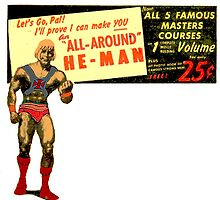 All Around He-Man Masters Courses by Rachel Flanagan
