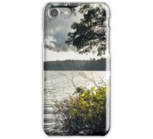 Northern lake landscape iPhone Case/Skin