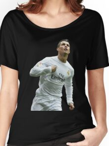 cristiano ronaldo goal Women's Relaxed Fit T-Shirt