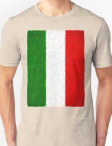 Green White and Red Unisex T-Shirt