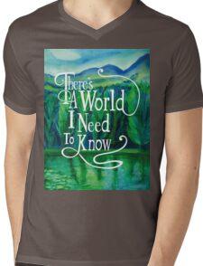 Inspirational Poster Mens V-Neck T-Shirt