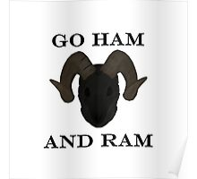 GO HAM AND RAM Poster