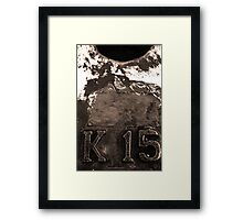 K-15: the Kalibukbuk Jetty Framed Print