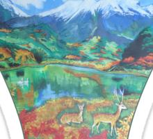 Nature cape  Sticker