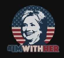 Hillary - I'm With Her Kids Tee
