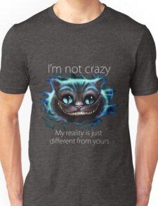Cheshire Cat Quote Unisex T-Shirt