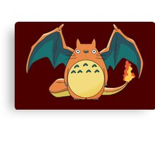 Totozard Canvas Print