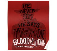 Blood Meridian Art Print Poster