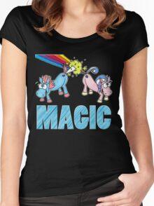 Unicorn Magic Women's Fitted Scoop T-Shirt