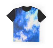 Blue Winter Sky Graphic T-Shirt