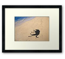 Have you seen my dog? Framed Print